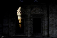 The light of faith (alamond) Tags: light mosque sehzade istanbul turkey shadow yard courtyard faith islam door canon 7d markii mkii llens ef 1740 f4 l usm alamond brane zalar