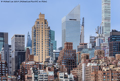 Skyline View from Roosevelt Island (20191129-DSC01215) (Michael.Lee.Pics.NYC) Tags: newyork rooseveltisland architecture cityscape skyline sony a7rm4 fe24105mmf4g 53w53 jeannouvel steinwaytower construction skyscraper citicorp 432 park avenue 425parkavenue