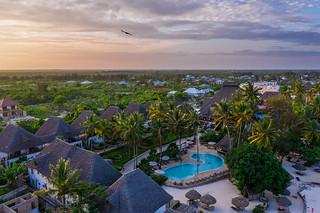 From the sky   Paradise Beach Resort