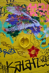 oie sauvage (Jeanne Menjoulet) Tags: oiseau stew streetart oie goose vol lyon