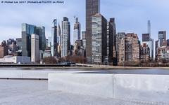 FDR Four Freedoms State Park (20191129-DSC01231) (Michael.Lee.Pics.NYC) Tags: newyork rooseveltisland architecture cityscape skyline sony a7rm4 fe24105mmf4g fpurfreedomsstatepark eastriver chryslerbuilding onevandebilt construction turkevi turkishconsulate unitednations fdrdrive