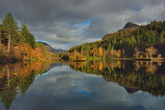 Autumn's all around you (images@twiston) Tags: golden glencoe lochan autumn trees pap papofglencoe loch still water reflection highlands scottish mountain remote scotland landscape mountains imagestwiston nisi nisifilters gnd neutraldensity grad
