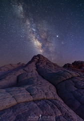 An Eruption of Light (ihikesandiego) Tags: white pocket vermilion cliffs national monument milky way