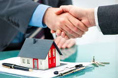Residential property management companies NYC (bedroseny) Tags: businessman signature seminar handshake signing investment loan banking shaking homeownership buildingcontractor mortgagedocument key working meeting business customer ideas success selling finance buying concepts agreement realestateagent humanhand house sign pen office mansion contract rent mortgage trader homeinterior