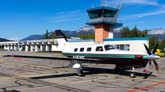 Piper PA-46-350P Malibu Jetprop DLX N45WF Private (William Musculus) Tags: aviation plane airplane spotting william musculus airport piper pa46350p malibu jetprop dlx n45wf private annecy meythet ncy lflp pa46