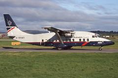 G-BKMX Glasgow 27-8-1998 (Plane Buddy) Tags: gbkmx shorts 360 british regional ba express glasgow
