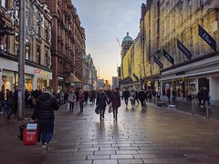 Photo of Christmas shopping in Glasgow
