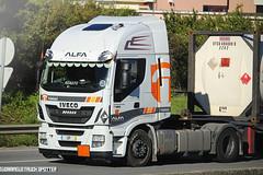 Iveco HI-WAY 460 ALFA Transportes - Portugal (Campelo1204) Tags: truckspotting truckspotter trucks transportes truckspottingportugal truckspotterportugal iveco ivecotrucks ivecostralis iveco460