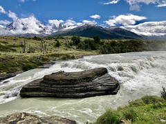 Cascada Rio Paine (__ PeterCH51 __) Tags: cascadariopaine waterfall cascade torresdelpaine nationalpark river scenery landscape iphone peterch51 chile patagonia andes anden chileanandes