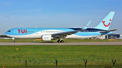 G-OBYH (AnDyMHoLdEn) Tags: thomson tui 767 egcc airport manchester manchesterairport 23l