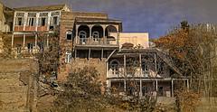 GEORGIA: Old Tbilisi (desimage) Tags: georgia tibilisi cityscape textured balconies tre