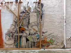Blink Cincinnati Alley Mural (J Wells S) Tags: alleyart wallart publicart mural streetart bricks urban urbanart findlaymarket overtherhine otr cincinnati ohio blinkcincinnati