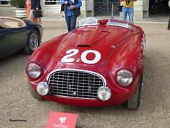 166 MM (BenGPhotos) Tags: 2019 concoursofelegance hampton court palace car show e4687 1949 ferrari 166 mm barchetta classic italian race racing sports