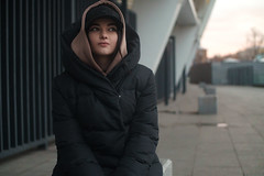 DSC00494cl (kolomiichenko.vladyslav) Tags: portrait cute girl architecture face style street streetphotography winter people sony sonyalpha sonya6000 vintagelens industar61l sunset viltrox speedbooster