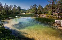 IMG_6623-1 (Andre56154) Tags: schweden sweden sverige landschaft landscape wald forest fluss river wasser water himmel sky