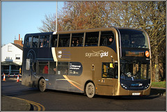 15936, Raglan Street (Jason 87030) Tags: stagecoach gold x46 x47 branded branding enviro e400 raunds northants northampton northamptonshire roadside december 2019 doubledecker wheels shot canon eos anything everything
