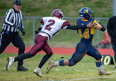 The Northampton Blue Devils defeated the Easthampton Eagles 20-0. (icefisher225) Tags: davidwrightstadium northampton nhs ehs northamptonhighschool easthamptonhighschool bluedevils eagles ma usa