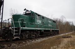 y&s 098 (Fan-T) Tags: ys youngstown southern southeastern 1706 gp16 negley ohio shortline plw ibcx