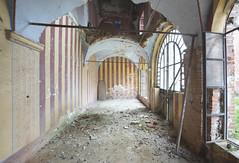 Castello di Scudi (Sean M Richardson) Tags: abandoned castle architecture italia details decay vibrant color light canon photography explore ruins