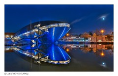 The blue whale of Bremen (MK|PHOTOGRAPHY) Tags: universum universe sciencecenter architektur architecture nacht night bremen deutschland germany pentax k1 hdpentaxdfa1530mmf28edsdmwr matthias körner mattkoerner1 mk|photography