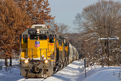 UP 1977 Eau Claire, WI (SP Patch) Tags: emd sd40n up union pacific ge sd70m 1977 1613 6378 4056 eau claire wi wisconsin