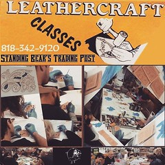 REGISTER NOW, Only a Few Seats Left! If you are Interested in learning to do leatherwork, Want to learn to create with leather, Be a part of Standing Bear's Trading Post, Leather by WC's Beginning Leathercraft Class January-June Rotation. Stop by or Call (standingbears) Tags: instagram lets talk leather leathercraft supplies think outside big box shop small leatherwork supply standing bears trading post