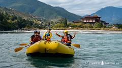 Rivers and Dzongs of Bhutan