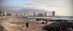 Beach - IMG_5044 - Edited (NengHetty) Tags: chile southamerica travel iquique pacificcoast coastal city ocean sea canoneosm50 canonefs24mmf28stm beach pacific water wave tide coast people goldenhour dusk cloud hill mountain shore