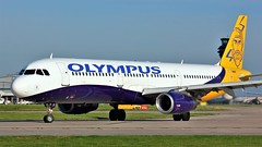 SX-ABY (AnDyMHoLdEn) Tags: olympus olympusairways a321 egcc airport manchester manchesterairport 23l