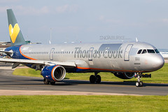 Avion Express LY-VED 28-5-2018 (Enda Burke) Tags: avgeek aviation airplane airport aviationviewingpark arrival avp airbus apron aero a321 airbusa321 canon canon7dmk2 cockpit aeroflot egcc engine thomascook thomascookairlines tcx manchesterairport manchester man manc manairport manchesterrunwayvisitorpark manchestercity avionexpress avion travel takeoff taxiing taxiway terminal1