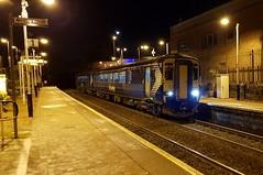 Abellio Scotrail Class 156 156477 sitting at Maryhill Station Platform 2 with service 2W55 (03-12-19) (Rikki Cameron) Tags: trains abellio scotrail scotrailsaltireblue class156 supersprinter 156477 metrocammell localstoppingservice 2w55 glasgowqueenstreet anniesland maryhill glqanl