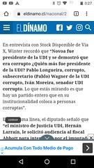 Información aparecida en El Dínamo (bilobicles bag) Tags: corrupto politico delincuente novoa pablo longueira wagner ivan moreira