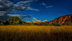 The Shape of Light (Kathy Macpherson Baca) Tags: scenic arizona vortex sunset light wideangle canon landscape planet redrock earth sedona world grass