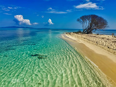 Pigeon Cay Beach (mikederrico69) Tags: tropical trip summer island view panaramic seaside seascape ocean oceanscape oceanside beach colorful sand beaches clouds sky roatan shoreline honduras sea
