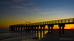 Sunset at Matagorda (LDMcCleary) Tags: