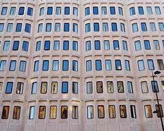Gothic reflections (Squatbetty) Tags: london stpancras camden windows reflections panasoniclumixdmclx3 symmetry