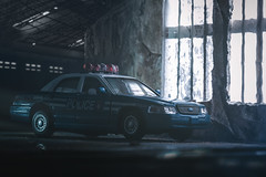 Ford Crown Victoria Police Interceptor (szadvari.laszlo) Tags: ford crown vic victoria police interceptor factory industrial abandoned toy car carphoto photo photography nikon miniature