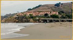 The San Luis Bay Inn Resort! (medaibl) Tags: sanluisbayinn pcific sanluisbay hills palmtrees surf bridge trees water sky people