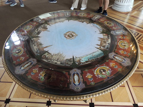 The Hermitage: Italian micromosaic table