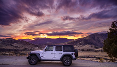 Rubicon at Sunset 0618 (Del Hoffman-Thx 28,050,000 Views) Tags: jeep rubicon sunset nikkor nikonz7 nature