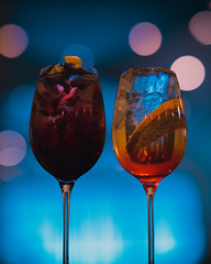 It's 5oclock. // (LaFemmePhoto) Tags: winter food holiday restaurant massachusetts 85mm pomegranate delicious foodies liquor foodporn drinks alcohol cocktails sangria happyhour spritz aperol gmaster 85mm14 sonya7 sonya7iii mixology
