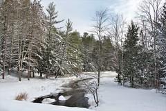 Sevenmile River - Spencer, Massachusetts (Stephen St-Denis) Tags: spencer massachusetts winterscene worcestercounty