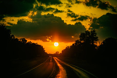 I Feel So Alone on a Friday Night (Thomas Hawk) Tags: america texas usa unitedstates unitedstatesofamerica sunset detroit fav10 fav25 fav50 fav100