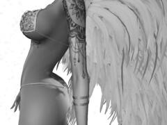 Cold Angel (ivyisla.sl) Tags: secondlife slphotography sl secondlifephotography secondlifestyle slavatar slfashion virtualworld virtualphotography virtualmodel virtualworlds avatar