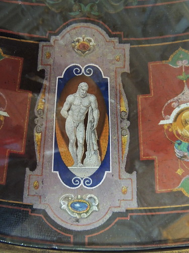 The Hermitage: Italian micromosaic table
