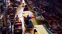 Floating market (Dario Cardillo) Tags: sony sonynex6 sonyalpha rikenon 50mm thailand travel street streetphotografy floating market travelphotografy