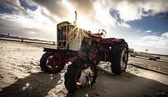Mean Machine (gorelin) Tags: netherlands holland wijkaanzee sky skies clouds tractor vehicle machine flare sun sunflare sony sonya7 sonyilce7m2 sonyalpha sonlyilce7m2 sonyalphaa7ii sonyalphailce7m2 voigtlander voigtlandersuperwideheliar 15mm super wide wideangle wideanglephotography wideanglephoto heliar sunrise