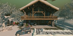 Outside the Chalet (Arya Braveheart - Blogger) Tags: 22769 thearcade goose tannenbaum eedhomegarden adventcalendar thelookingglass applefall serenitystyle uber