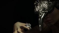 Everyone has a darkside.... (tralala.loordes) Tags: pendulum tralalaloordes tralala tra secondlife sl slfashionblogging slblogging fashion fantasy fashionblogging fantasyart flickrblogging flickrart virtualphotography virtualreality vr avatar veil emissary hydrusring jewelry ring headdress headpiece mask masked shadow darkness hcxii