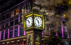 Gastown - World's first steam clock (Christie : Colour & Light Collection) Tags: clock vancouver time 1977 steamclock gastowndistrictofvancouver steam timepiece lighting light history sidewalk nighttime afterdark steampowered steampoweredclock vancouvervancouver gastown gastownvancouver bc britishcolumbia worldsfirststeamclock historic historicbuilding turnofthecentury cityofvancouverbritishcolumbia lights lowlighting cpr whistle night 1030 electricmotor chimes westminsterchimes douglaslsmith canadianhistory gravitydriven gravity steampowderedclock pacificnorthwest northamerica litup metrovancouver nikon flickr nikkor photography windows city 1030pm nightlights lowlightphotography afterdarkphotography flickrphotography